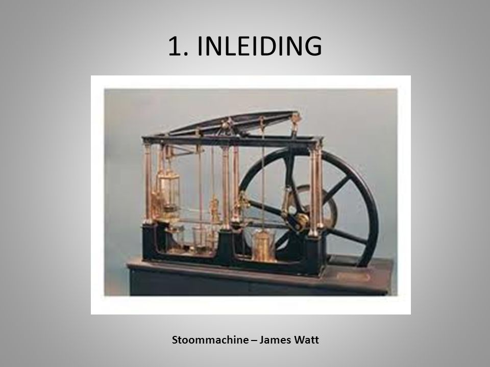 Stoommachine – James Watt