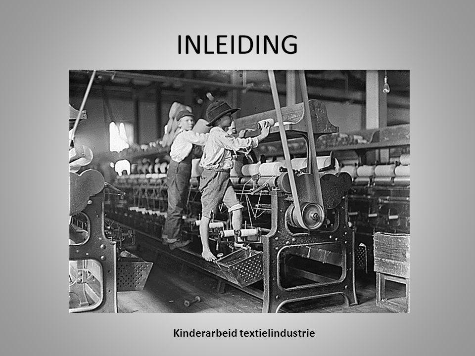 Kinderarbeid textielindustrie