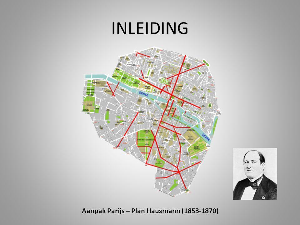 Aanpak Parijs – Plan Hausmann (1853-1870)