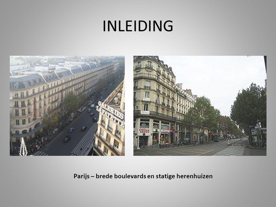 Parijs – brede boulevards en statige herenhuizen