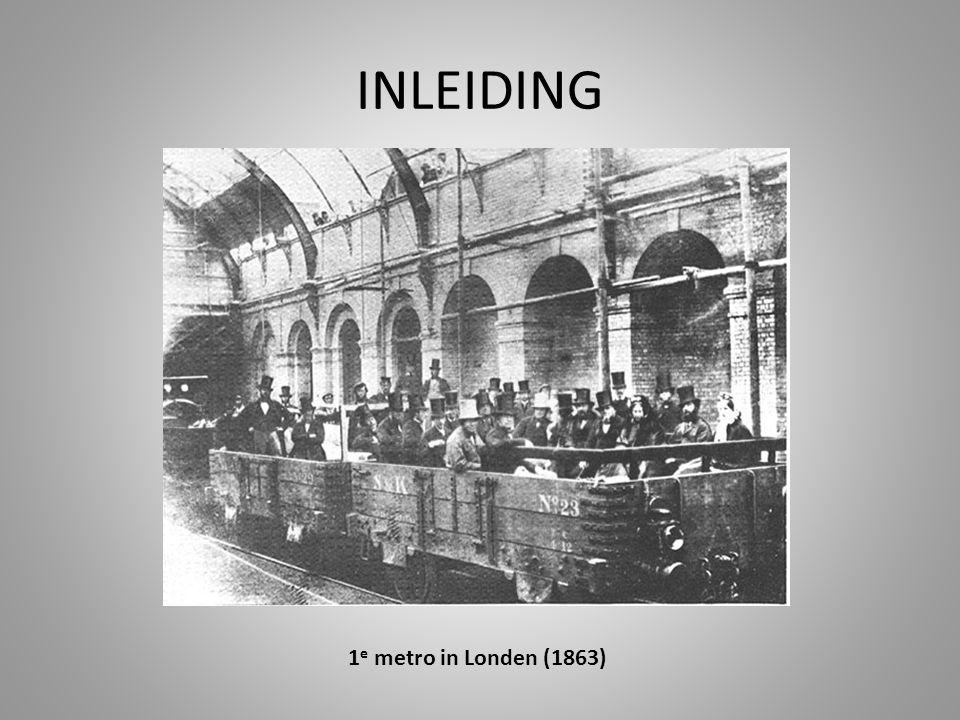 INLEIDING 1e metro in Londen (1863)
