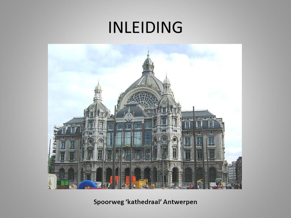 Spoorweg 'kathedraal' Antwerpen