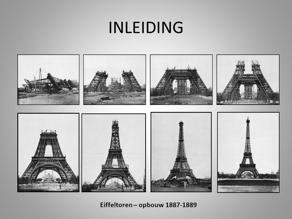 INLEIDING Eiffeltoren – opbouw 1887-1889
