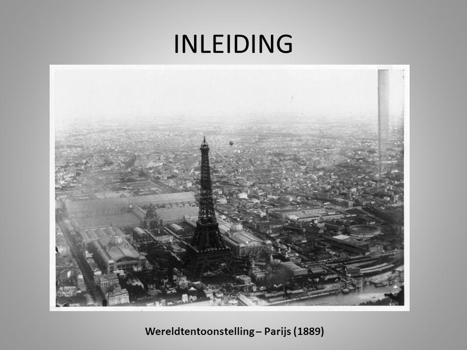Wereldtentoonstelling – Parijs (1889)