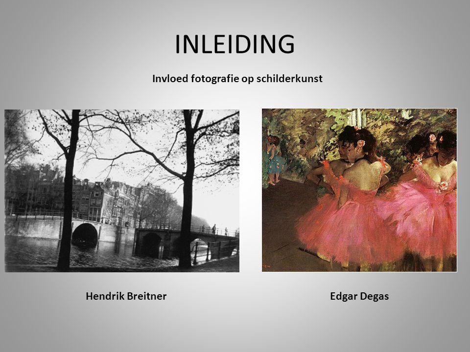 Invloed fotografie op schilderkunst