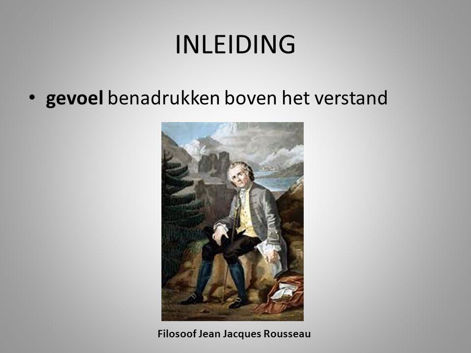 Filosoof Jean Jacques Rousseau