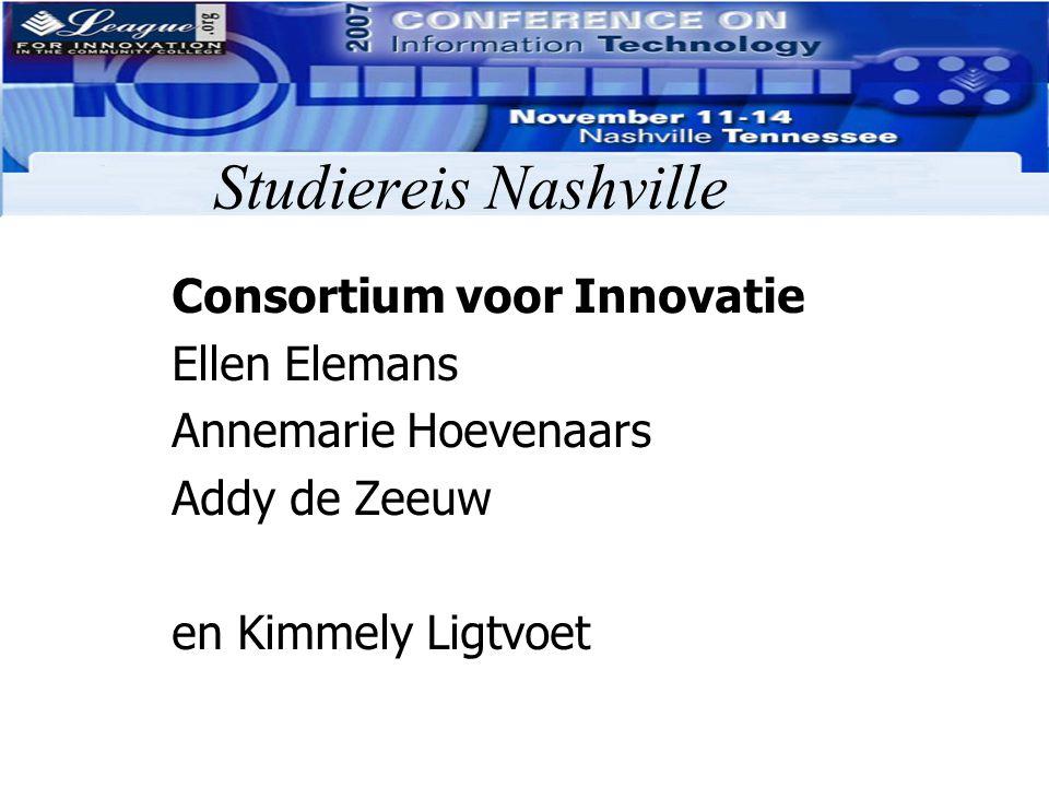 Studiereis Nashville Consortium voor Innovatie Ellen Elemans