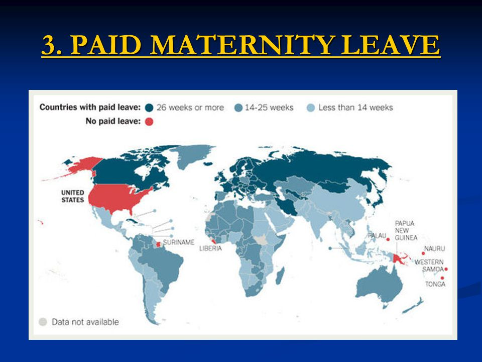 3. PAID MATERNITY LEAVE