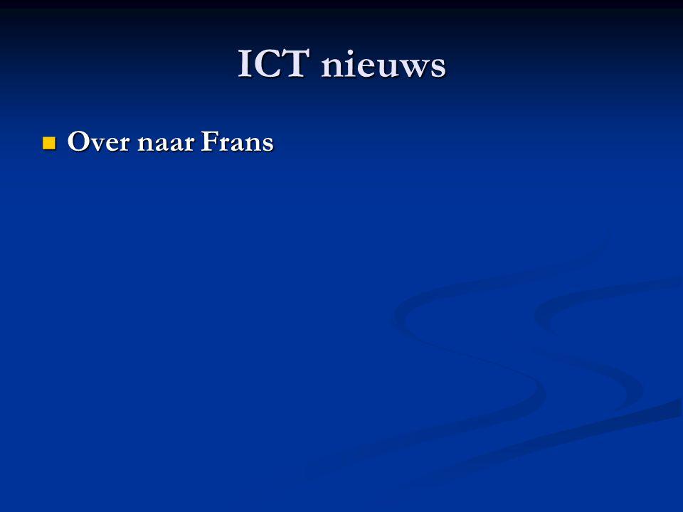 ICT nieuws Over naar Frans