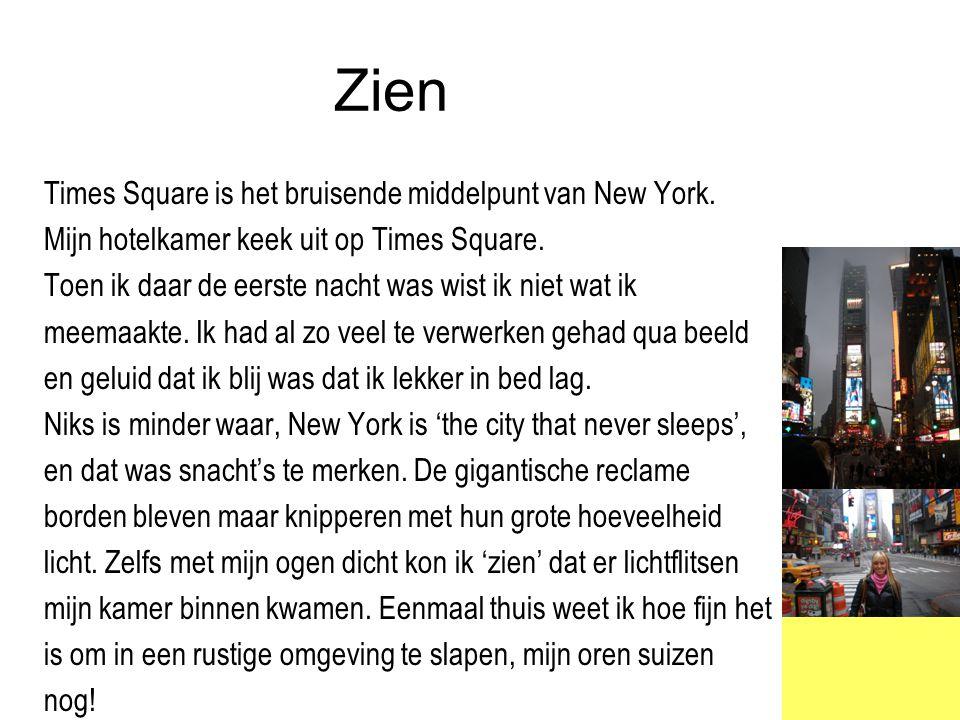 Zien Times Square is het bruisende middelpunt van New York.