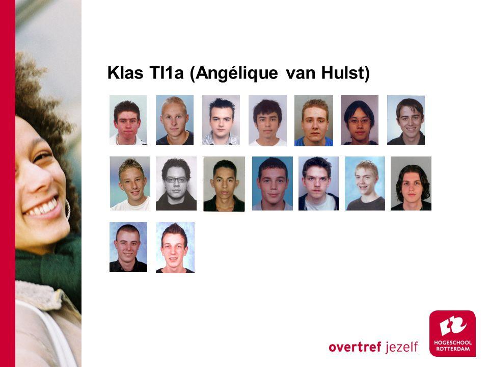 Klas TI1a (Angélique van Hulst)