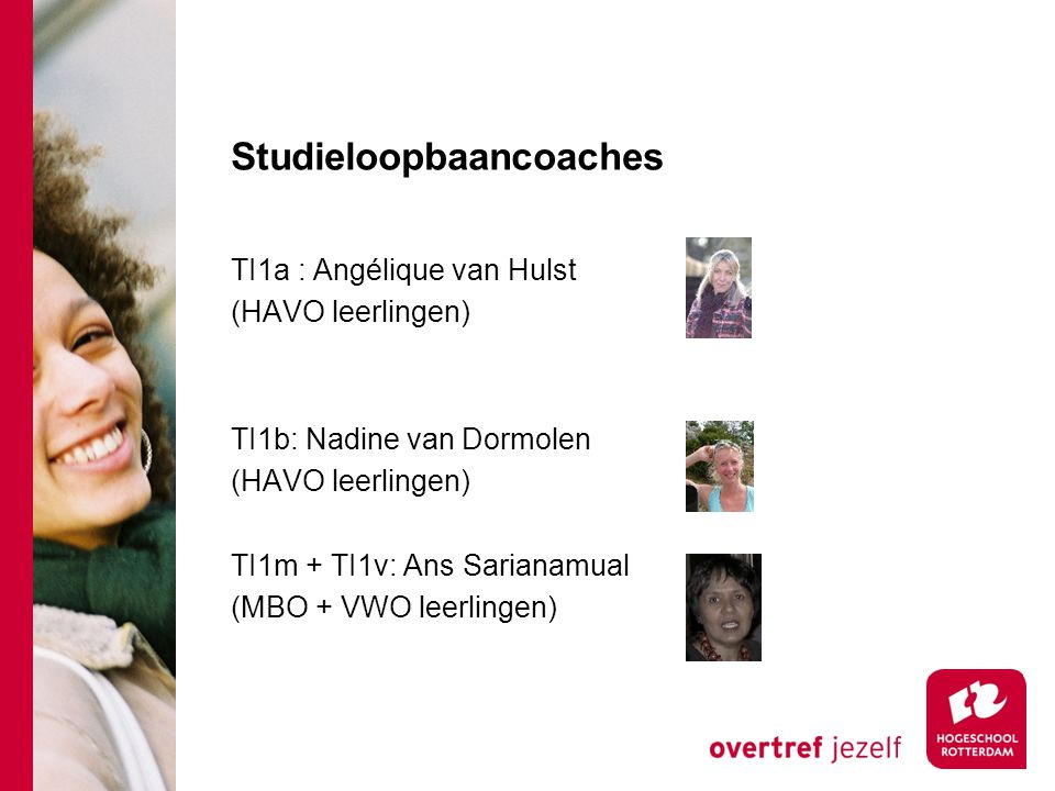 Studieloopbaancoaches