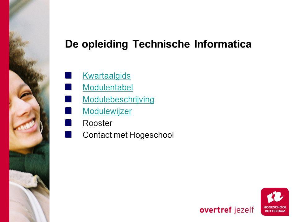 De opleiding Technische Informatica