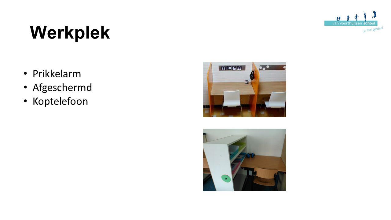 Werkplek Prikkelarm Afgeschermd Koptelefoon