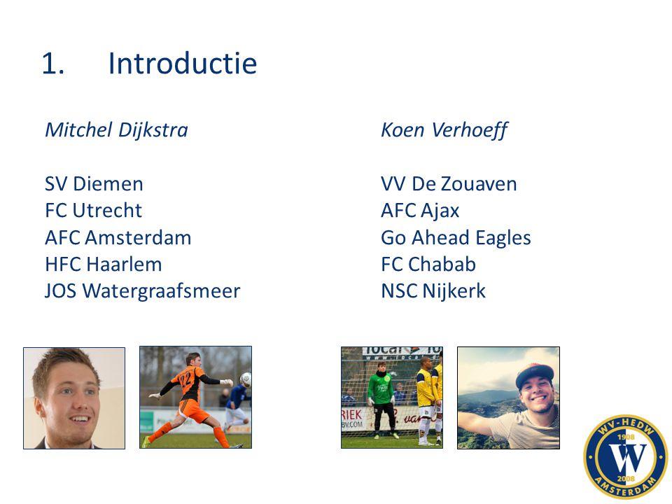 1. Introductie Mitchel Dijkstra Koen Verhoeff