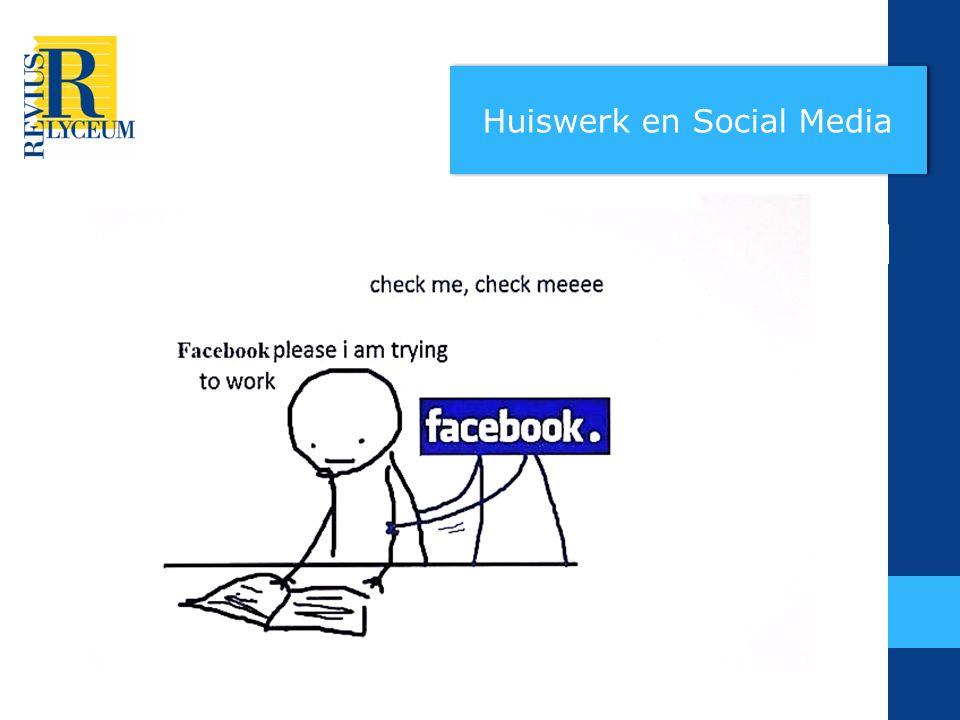 Huiswerk en Social Media