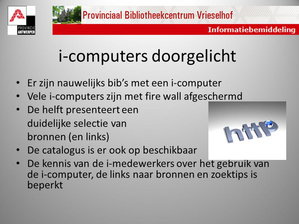 i-computers doorgelicht