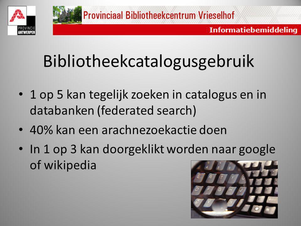 Bibliotheekcatalogusgebruik
