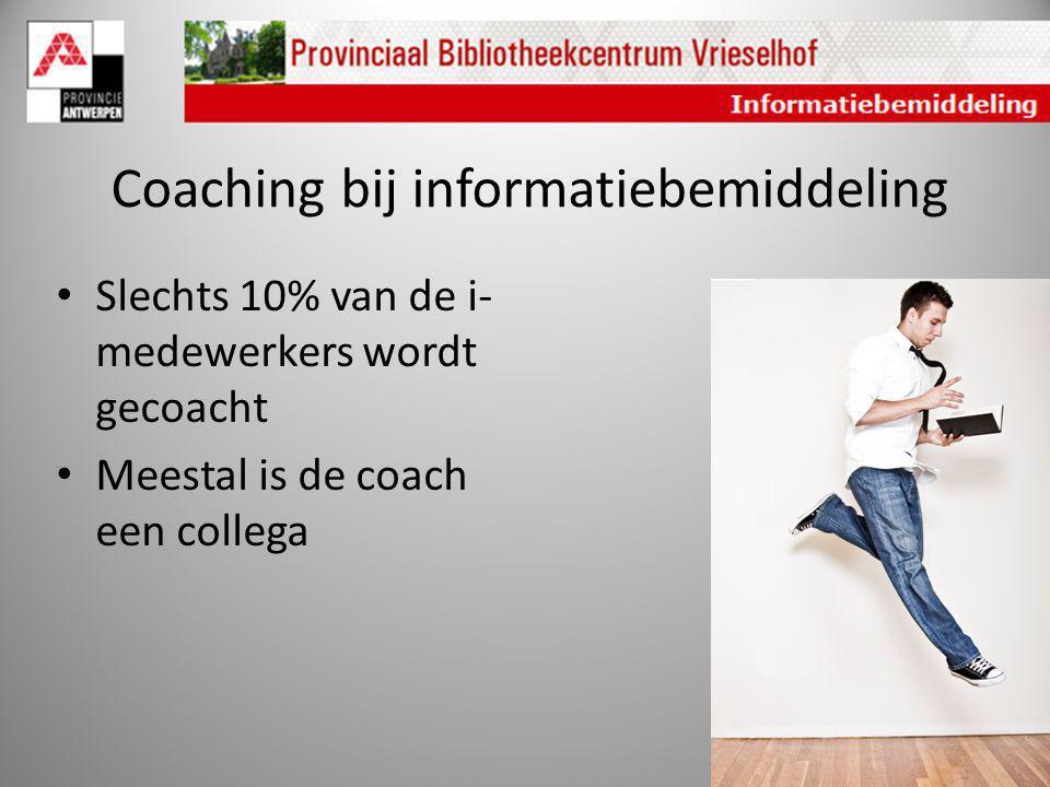 Coaching bij informatiebemiddeling