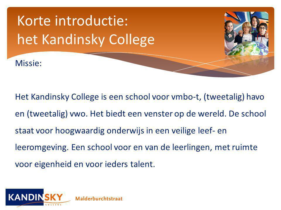 Korte introductie: het Kandinsky College