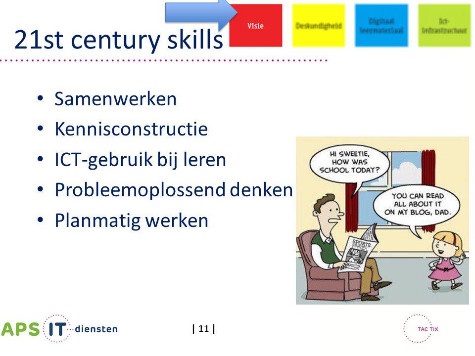 21st century skills Samenwerken Kennisconstructie