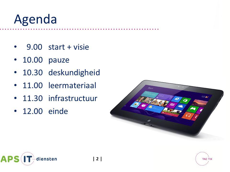 Agenda 9.00 start + visie 10.00 pauze 10.30 deskundigheid