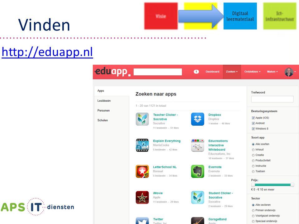 Vinden http://eduapp.nl