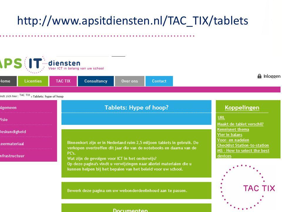 http://www.apsitdiensten.nl/TAC_TIX/tablets