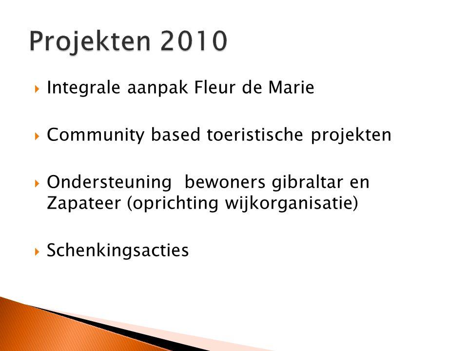 Projekten 2010 Integrale aanpak Fleur de Marie