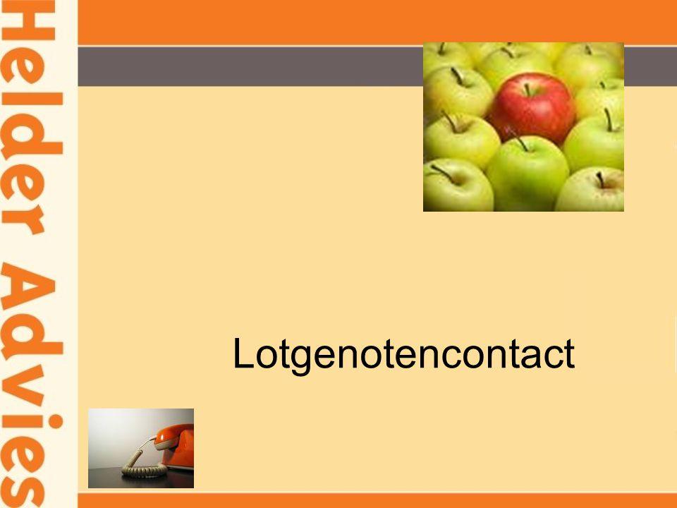 Lotgenotencontact