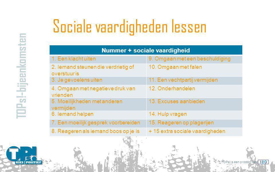 Sociale vaardigheden lessen