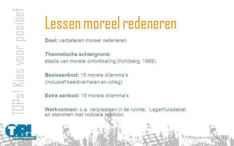Lessen moreel redeneren