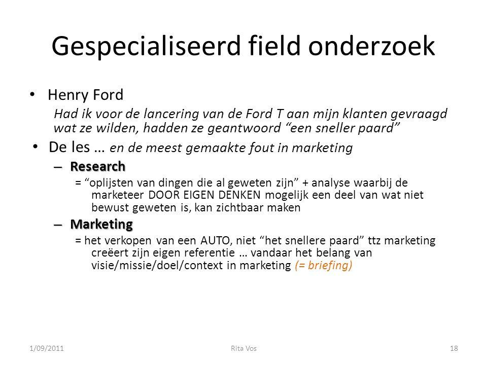 Gespecialiseerd field onderzoek