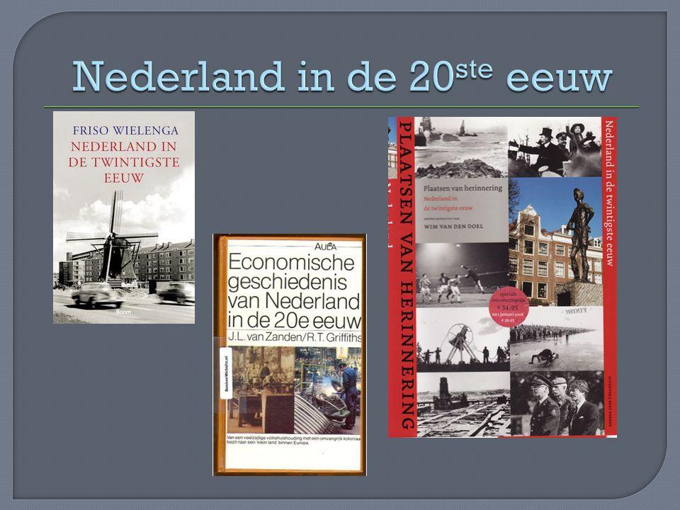 Nederland in de 20ste eeuw