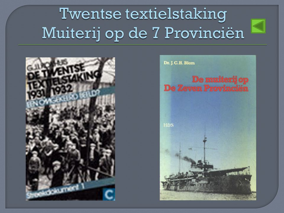 Twentse textielstaking Muiterij op de 7 Provinciën