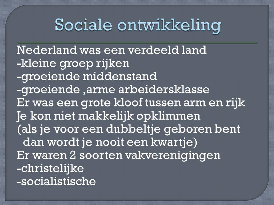 Sociale ontwikkeling
