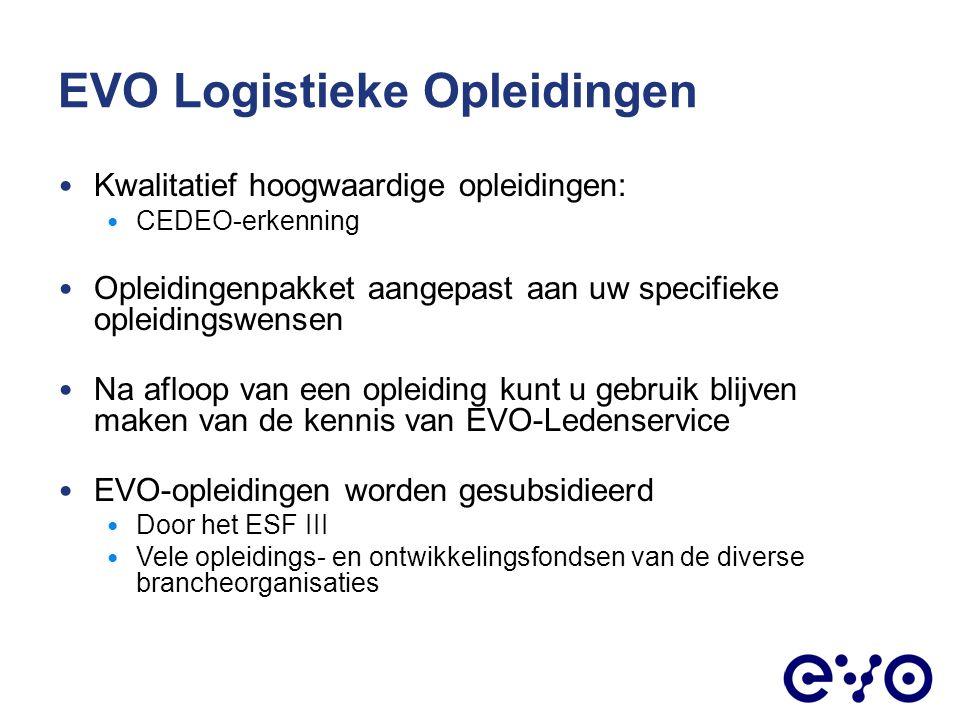 EVO Logistieke Opleidingen