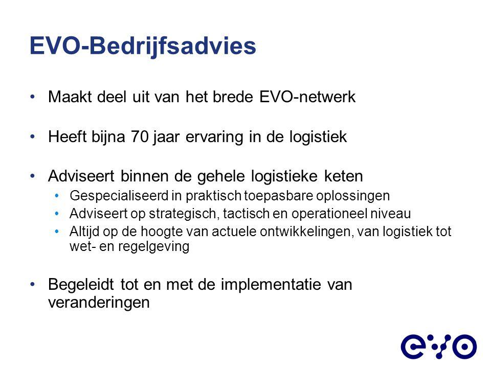 EVO-Bedrijfsadvies Maakt deel uit van het brede EVO-netwerk