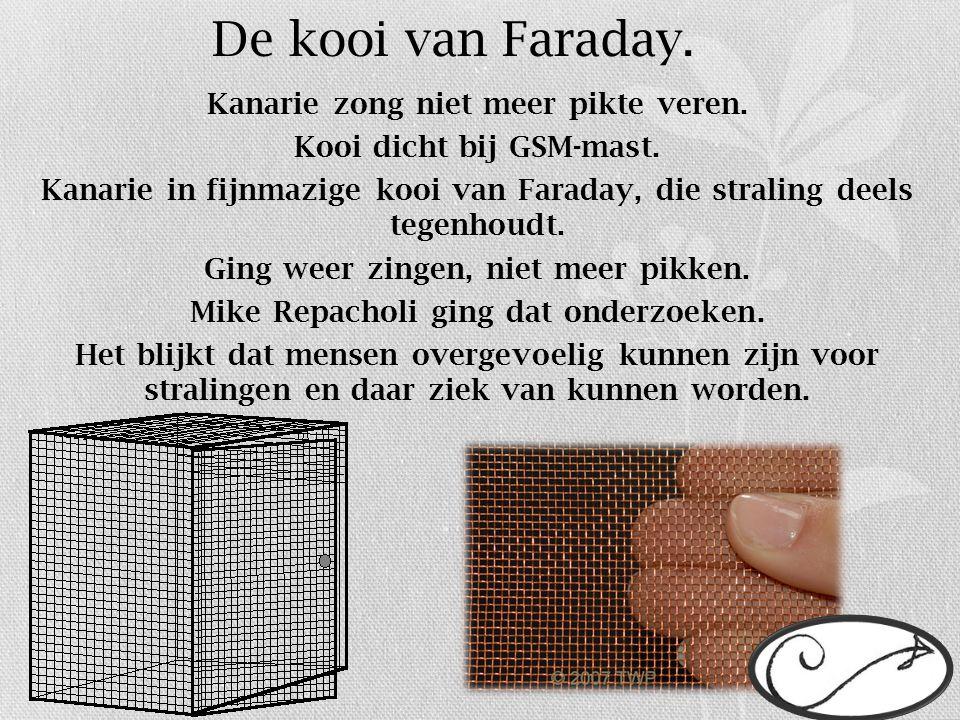 De kooi van Faraday.