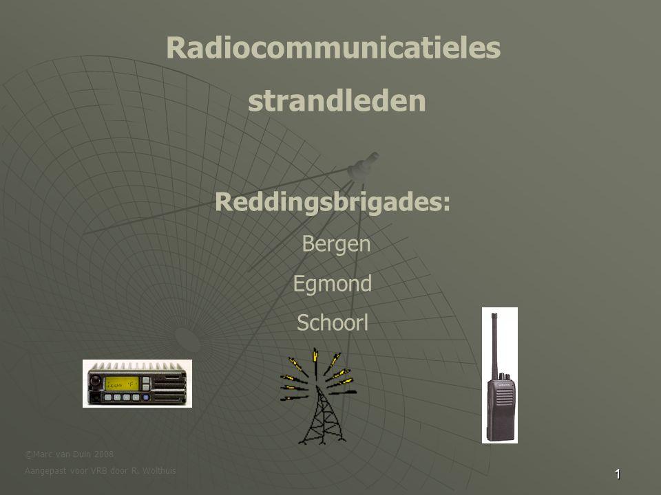Radiocommunicatieles