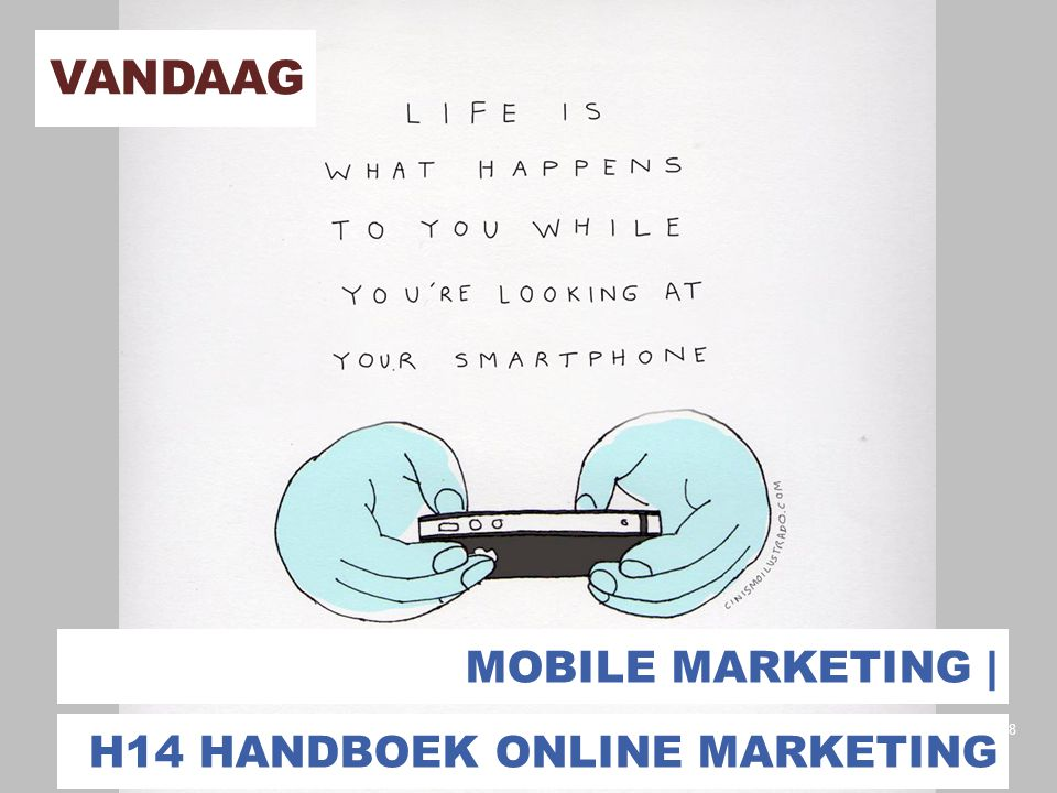 Vandaag Mobile marketing | H14 handboek online marketing