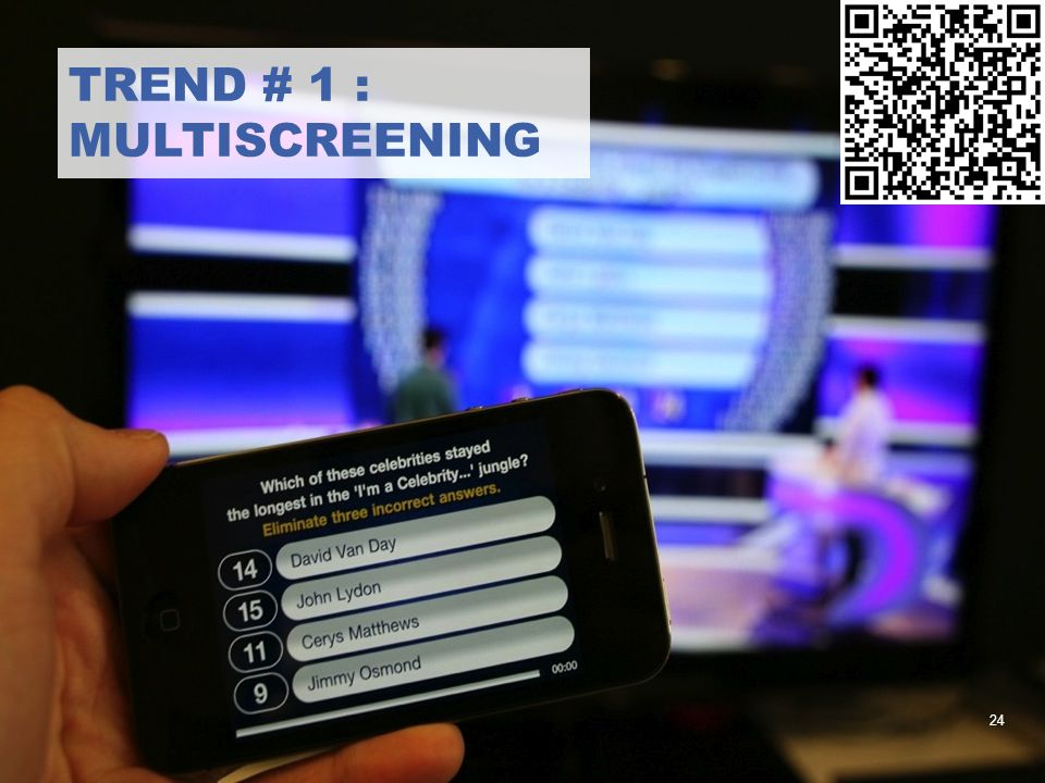trend # 1 : multiscreening