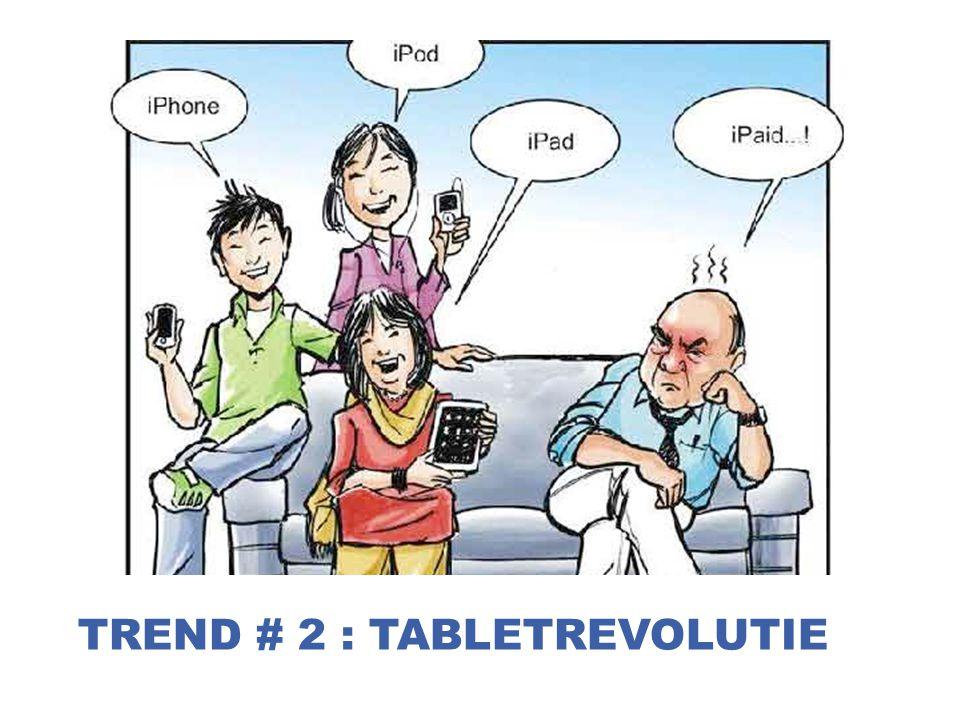 trend # 2 : tabletrevolutie