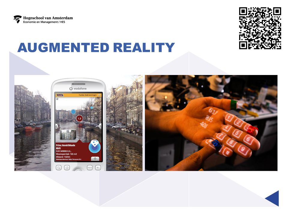 Augmented reality Voorbeelden augmented reality