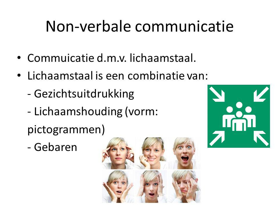 Non-verbale communicatie