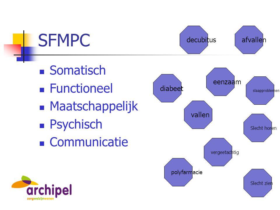 SFMPC Somatisch Functioneel Maatschappelijk Psychisch Communicatie