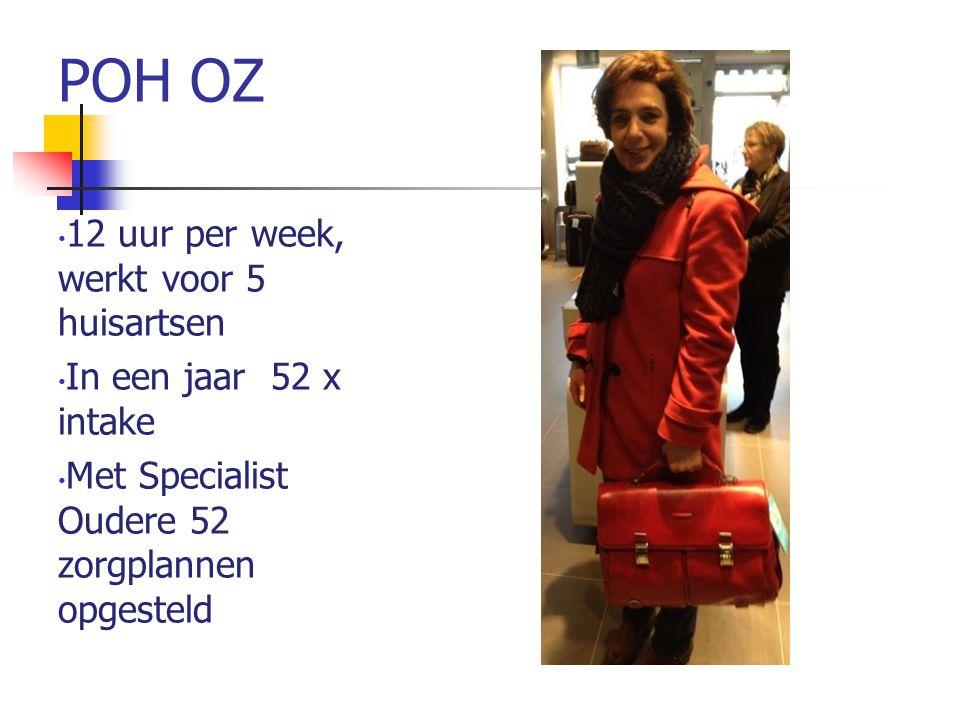 POH OZ 12 uur per week, werkt voor 5 huisartsen