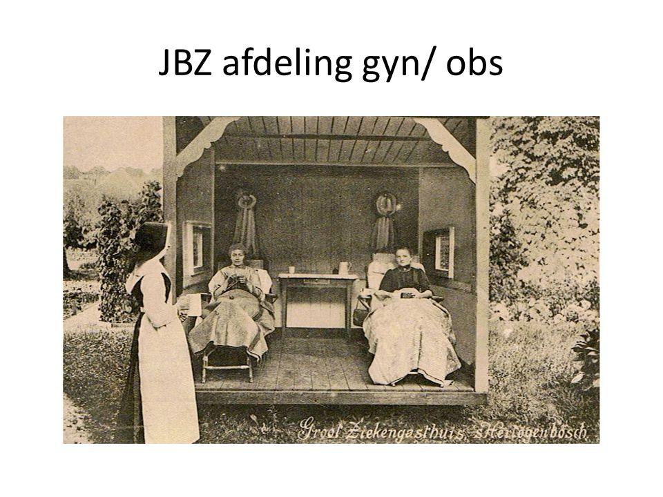 JBZ afdeling gyn/ obs