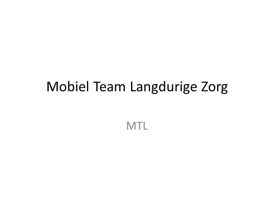 Mobiel Team Langdurige Zorg