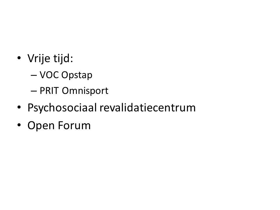 Psychosociaal revalidatiecentrum Open Forum